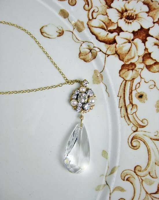 Everything Angelic Astrid Necklace - n315 Gold Wedding Necklaces photo