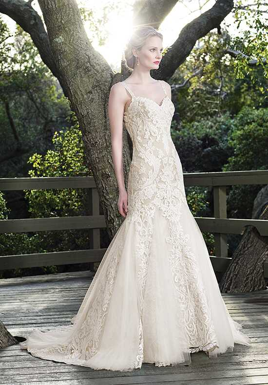 Casablanca Bridal 2256 Sage Mermaid Wedding Dress