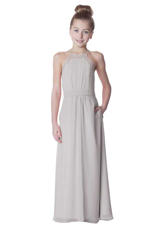 Bari Jay Bridesmaids 1774-JR Halter Bridesmaid Dress