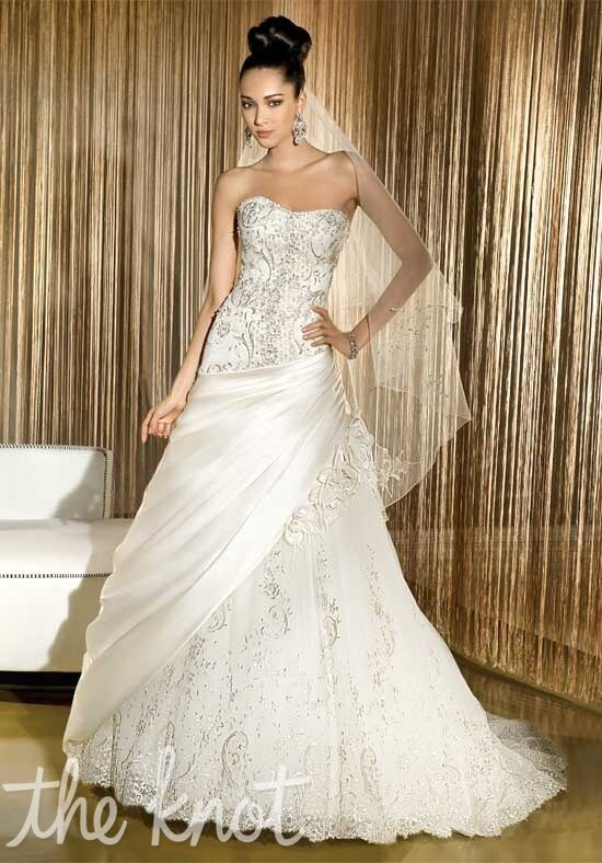 Demetrios 512 A-Line Wedding Dress