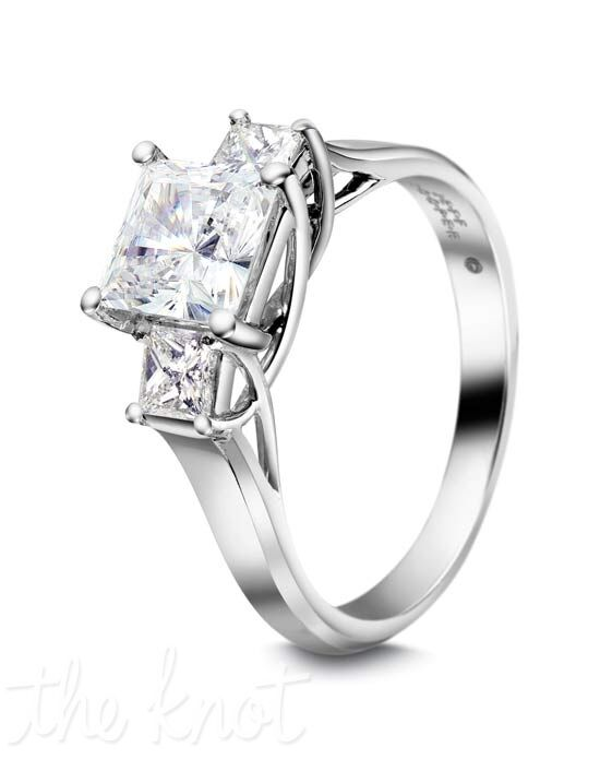 Jeff Cooper R-3168 Platinum, White Gold Wedding Ring