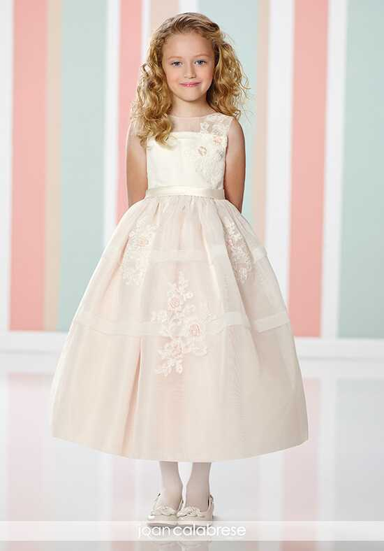 Joan Calabrese by Mon Cheri 216305 Ivory Flower Girl Dress