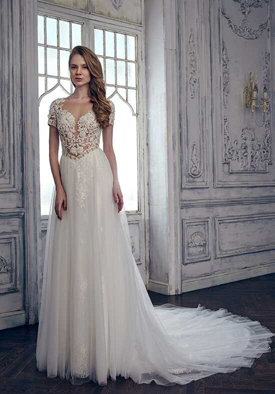 Calla Blanche 17110 Heather A-Line Wedding Dress