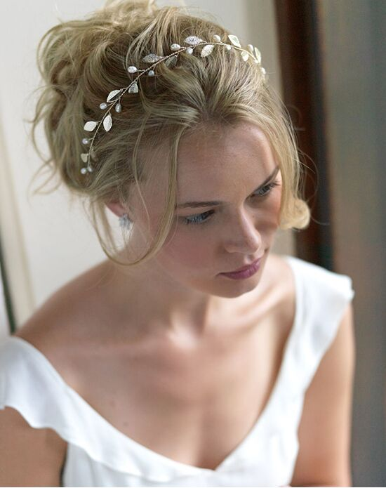 Dareth Colburn Nola Wedding Headband Gold Wrap
