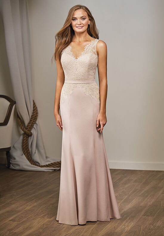 Belsoie L204016 V-Neck Bridesmaid Dress