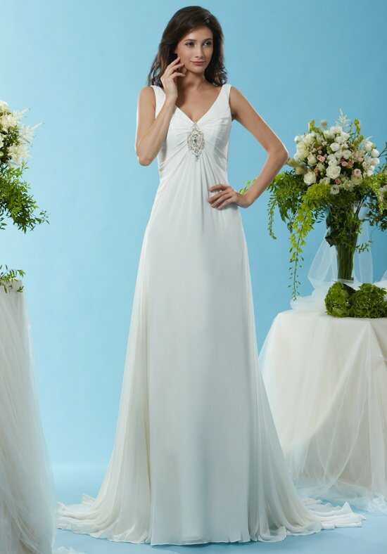 Eden Bridals SL071 A-Line Wedding Dress