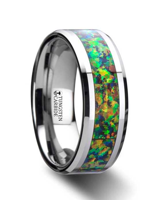 Mens Tungsten Wedding Bands W2961-TBOI Tungsten Wedding Ring