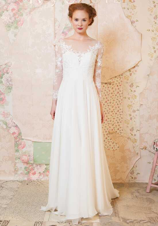 Ivy & Aster Blooming Bouquet A-Line Wedding Dress