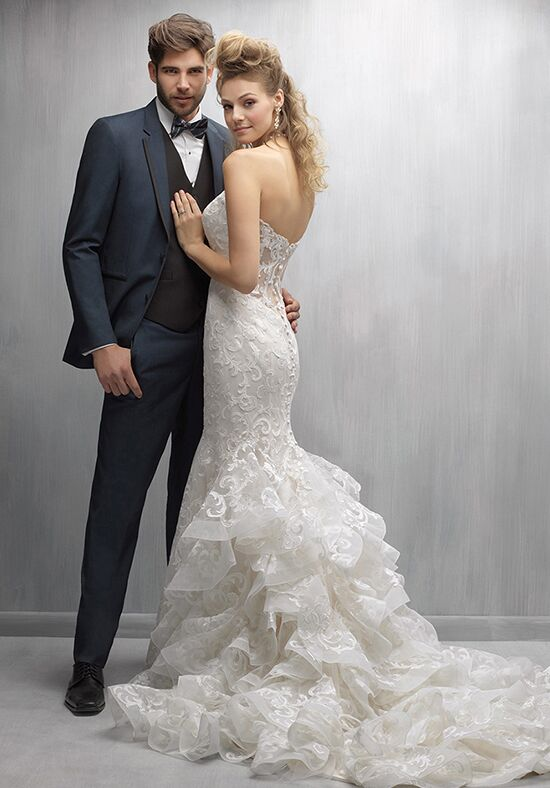 Madison James MJ252 Mermaid Wedding Dress