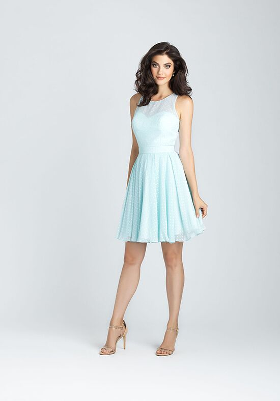 Allure Bridesmaids 1541 Illusion Bridesmaid Dress
