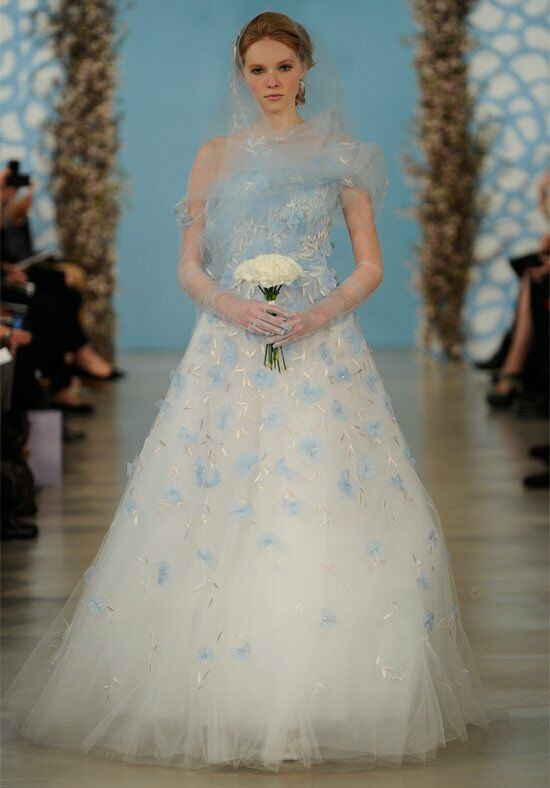 Oscar de la Renta Bridal 2014 Look 1 A-Line Wedding Dress
