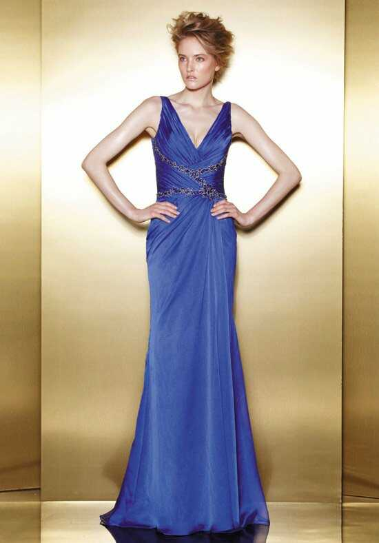 Love E4 Blue Mother Of The Bride Dress