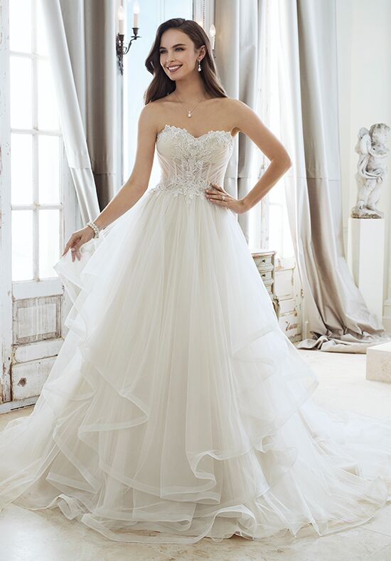 Sophia Tolli Y11867 Cleo A-Line Wedding Dress