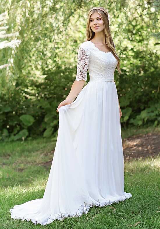 Modest by Mon Cheri TR11834 A-Line Wedding Dress