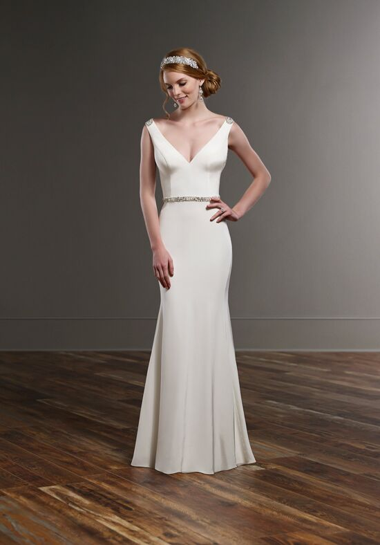 Martina Liana 756 Sheath Wedding Dress