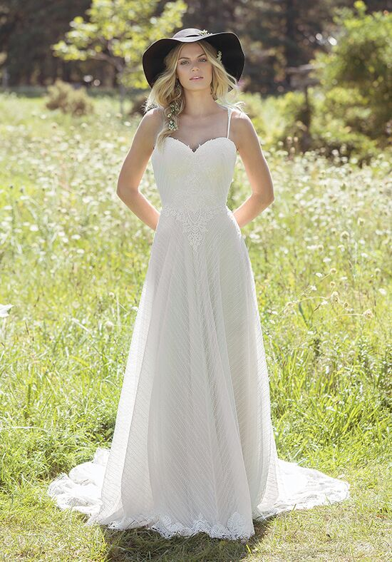Lillian West 6487 A-Line Wedding Dress