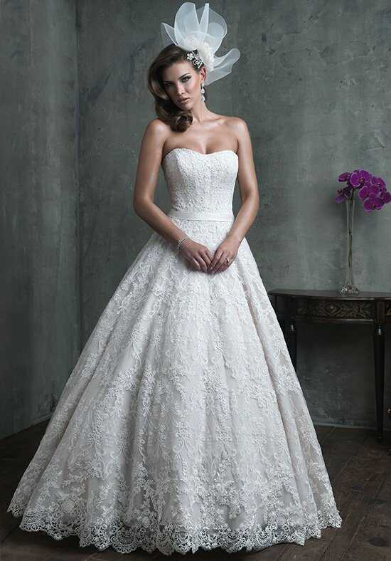 Allure Couture C308 Ball Gown Wedding Dress