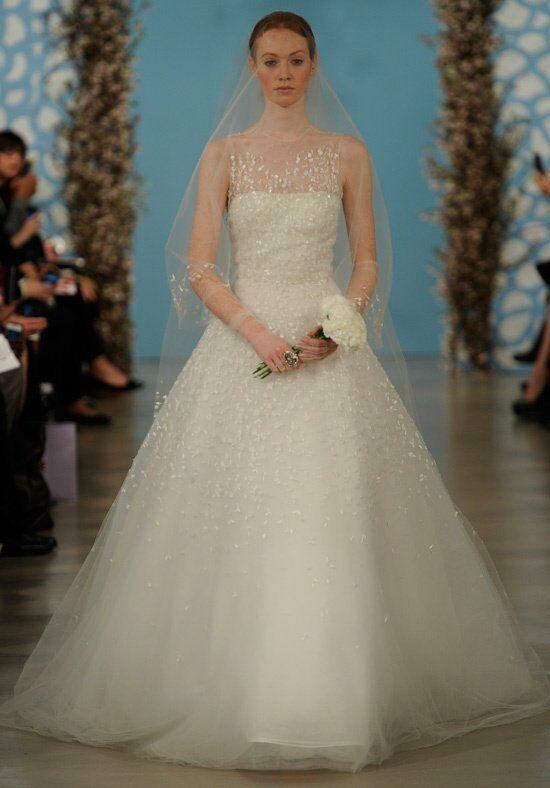 Oscar de la Renta Bridal 2014 Look 21 Ball Gown Wedding Dress