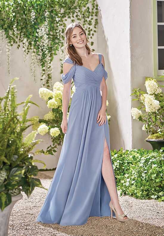 B2 by Jasmine B193011 V-Neck Bridesmaid Dress