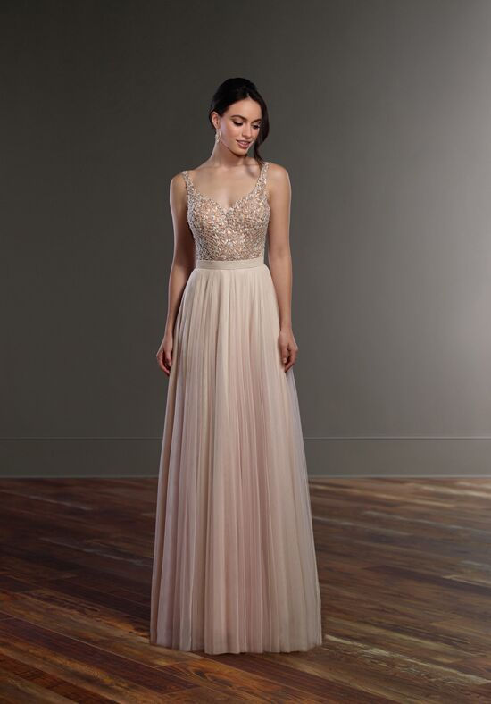 Martina Liana Blaine + Sawyer Sheath Wedding Dress