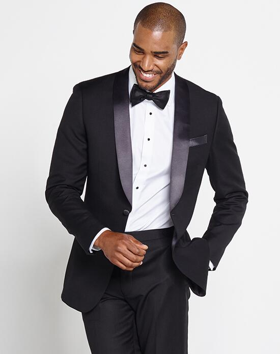 The Black Tux Shawl Collar Tuxedo Wedding Tuxedos + Suit photo