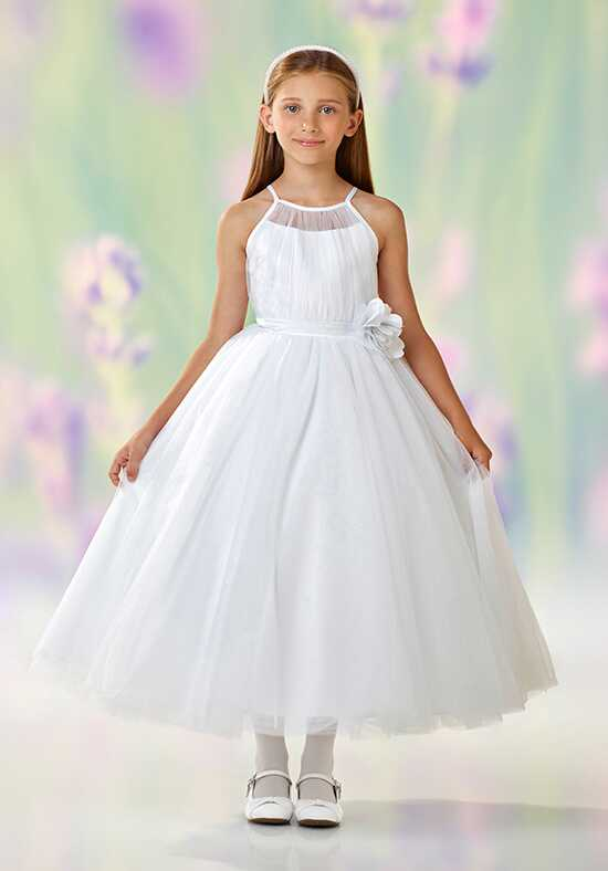Joan Calabrese by Mon Cheri 118322 Pink Flower Girl Dress