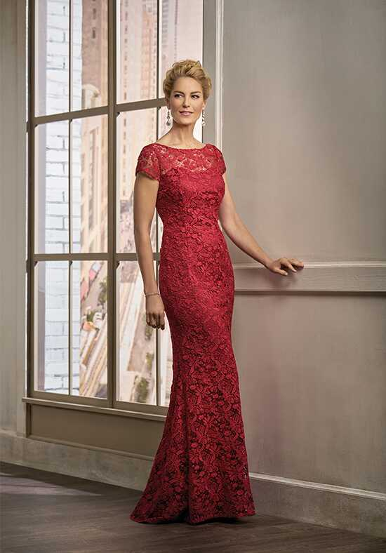 Jade Couture K198009 Red Mother Of The Bride Dress