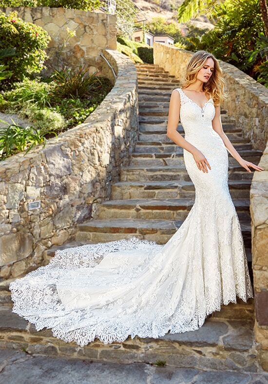 Moonlight Couture H1352 Mermaid Wedding Dress