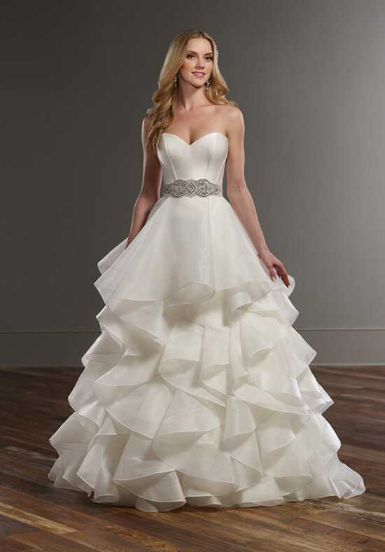 Martina Liana Carter+Skylar Ball Gown Wedding Dress
