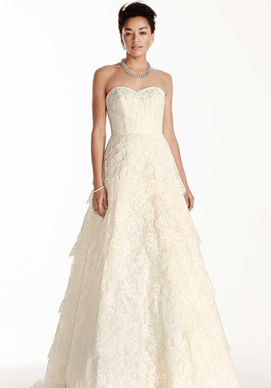 Oleg Cassini at David's Bridal Oleg Cassini Style CWG699 A-Line Wedding Dress
