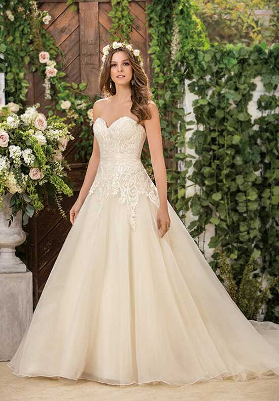 Jasmine Collection F181061 Ball Gown Wedding Dress