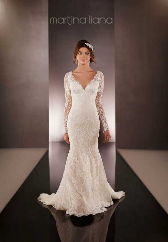 Martina Liana 651 Mermaid Wedding Dress