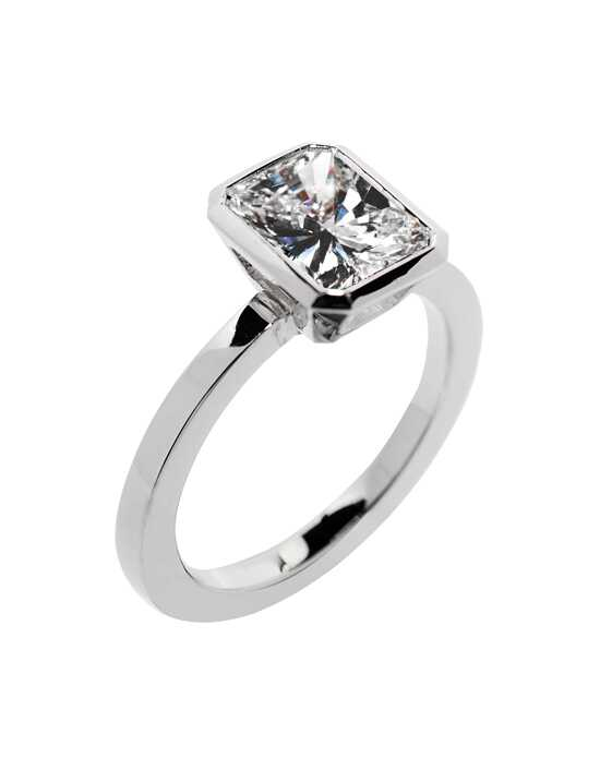 "Say ""Yes!"" in Platinum Classic Radiant Cut Engagement Ring"