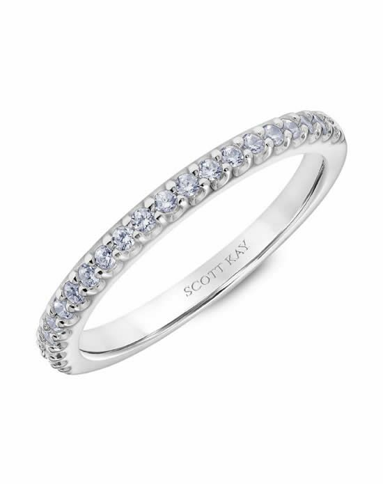 Scott Kay 31-SK5612W-L Platinum Wedding Ring