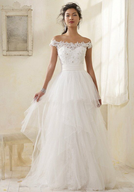 Alfred Angelo Modern Vintage Bridal Collection 8506 Wedding Dress ...