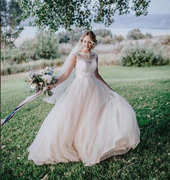 Caitlin Test Collection Wedding Dress A Line