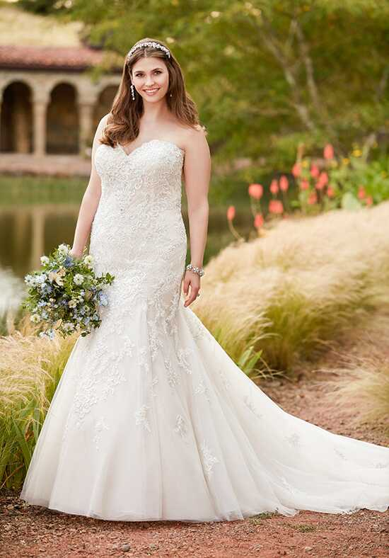 Essense of Australia D2308 Mermaid Wedding Dress