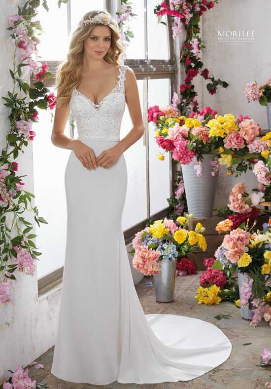 Morilee by Madeline Gardner/Voyage 6853 A-Line Wedding Dress