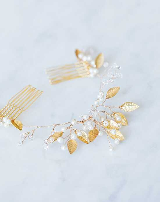 Davie & Chiyo | Hair Accessories & Veils Palais Headpiece Gold, Pink, Silver Pins, Combs + Clip