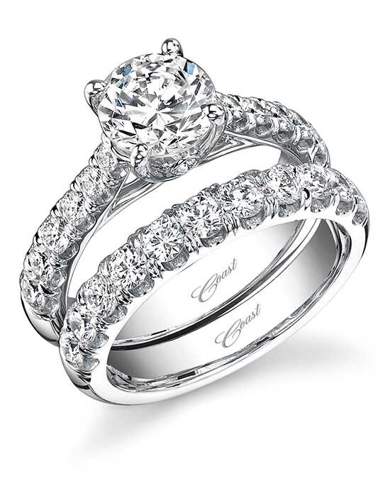 Coast Diamond LZ5001H & WZ5001H Engagement Ring photo