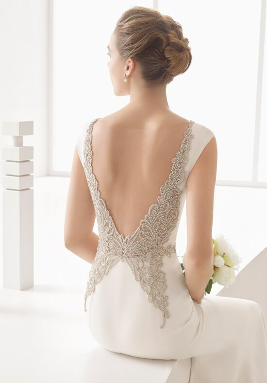 Rosa Clará Naima Sheath Wedding Dress