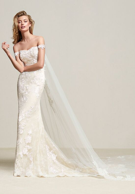 PRONOVIAS DRIA Mermaid Wedding Dress
