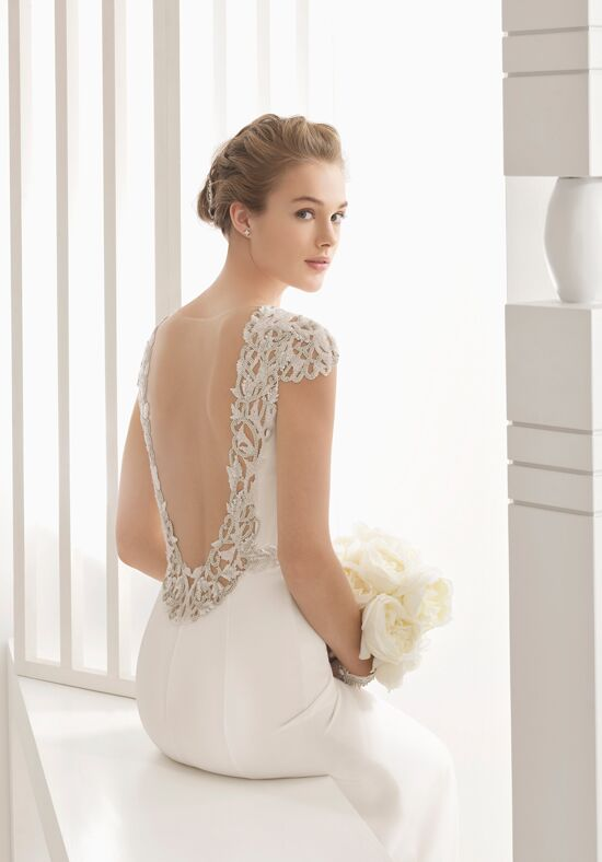 Rosa Clará Naira Sheath Wedding Dress