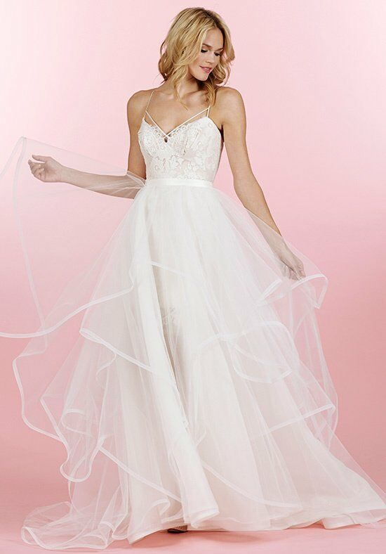 Hayley Paige 6457/Byron Sheath Wedding Dress