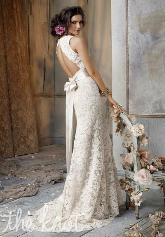 Jim Hjelm JH8011 A-Line Wedding Dress