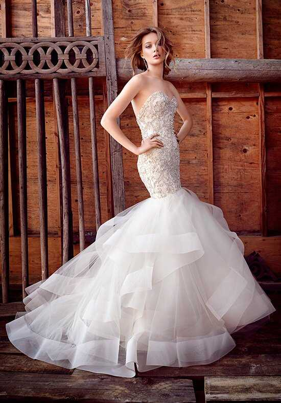 Lazaro 3553 Mermaid Wedding Dress
