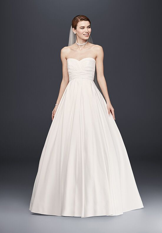 David's Bridal David's Bridal Collection Style WG3707 Ball Gown Wedding Dress