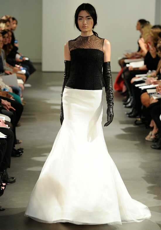 Vera Wang Spring 2014 Look 14 Mermaid Wedding Dress