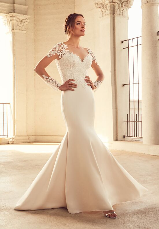 Paloma Blanca 4799 Mermaid Wedding Dress