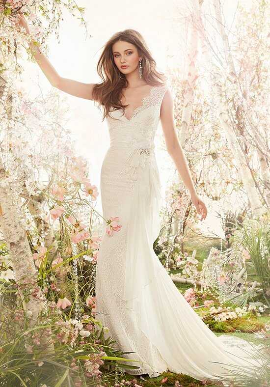 Jim Hjelm 8409 A-Line Wedding Dress